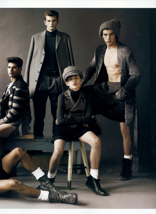 Vogue Hommes Japan #3 5