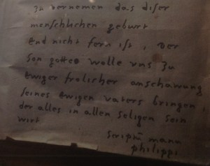 Melanchthon's Handwriting