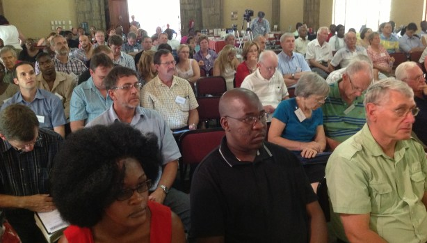 Attendees at Grace Ministers Conference, Pretoria, South Africa