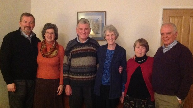 With Pastor Ted and Lorna Donnelly, and Pastor Ian and Joan Hamilton
