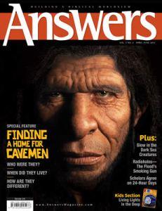 Answers Cavemen