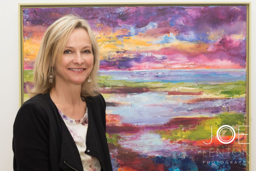 Artist Tracey Ross at Centrum-2