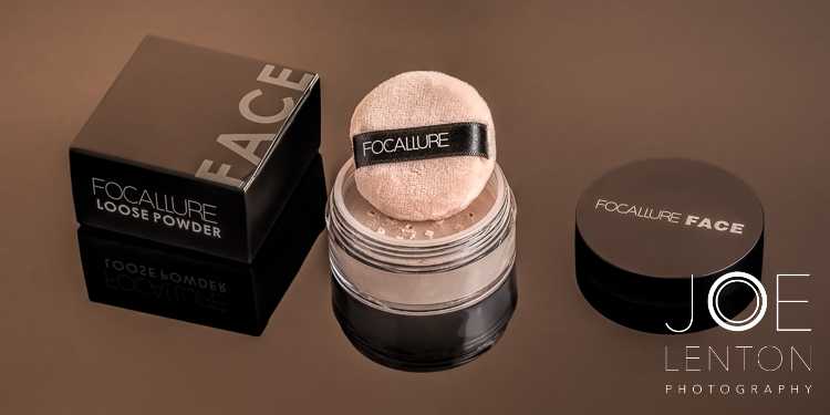 Add value with high quality product photography - Focallure Cosmetic Powder