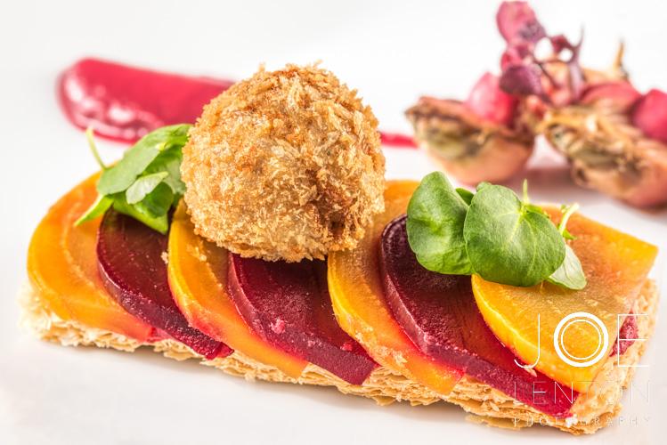 Food Photography - Starter & Dessert - Goldleaf Catering-5