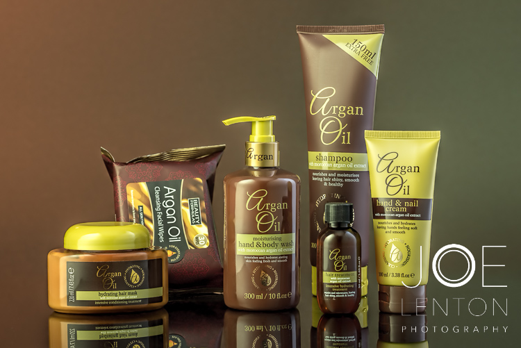 The Importance of Retouching for Product Photography- Argan Oil Products