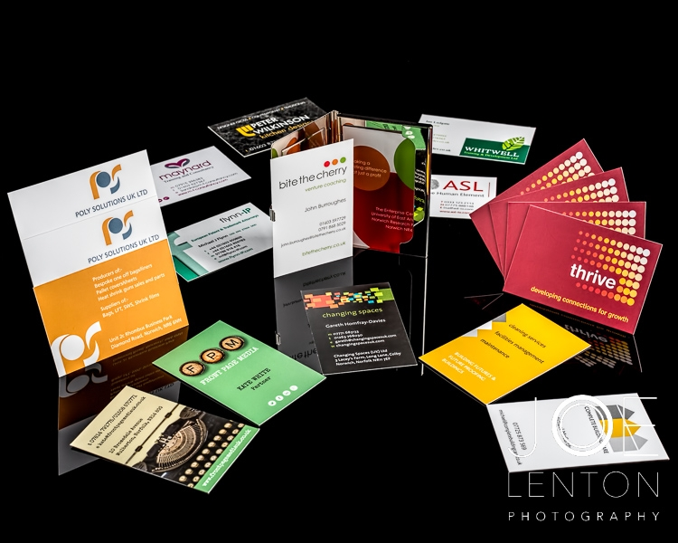 Product photography - brochures, business cards - SJD-2
