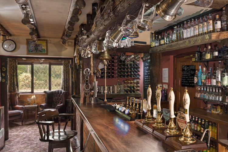 Architectural Photographer - Interior sample -Pub Photography Norfolk Lurcher Bar