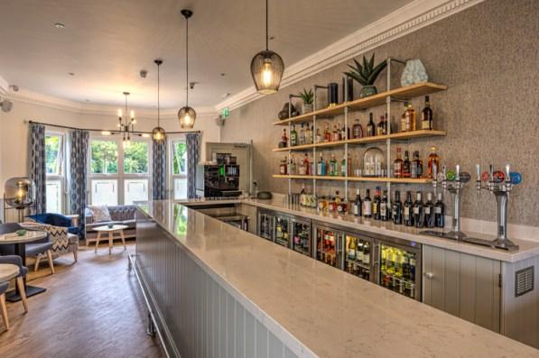 The bar at the Hog Hotel