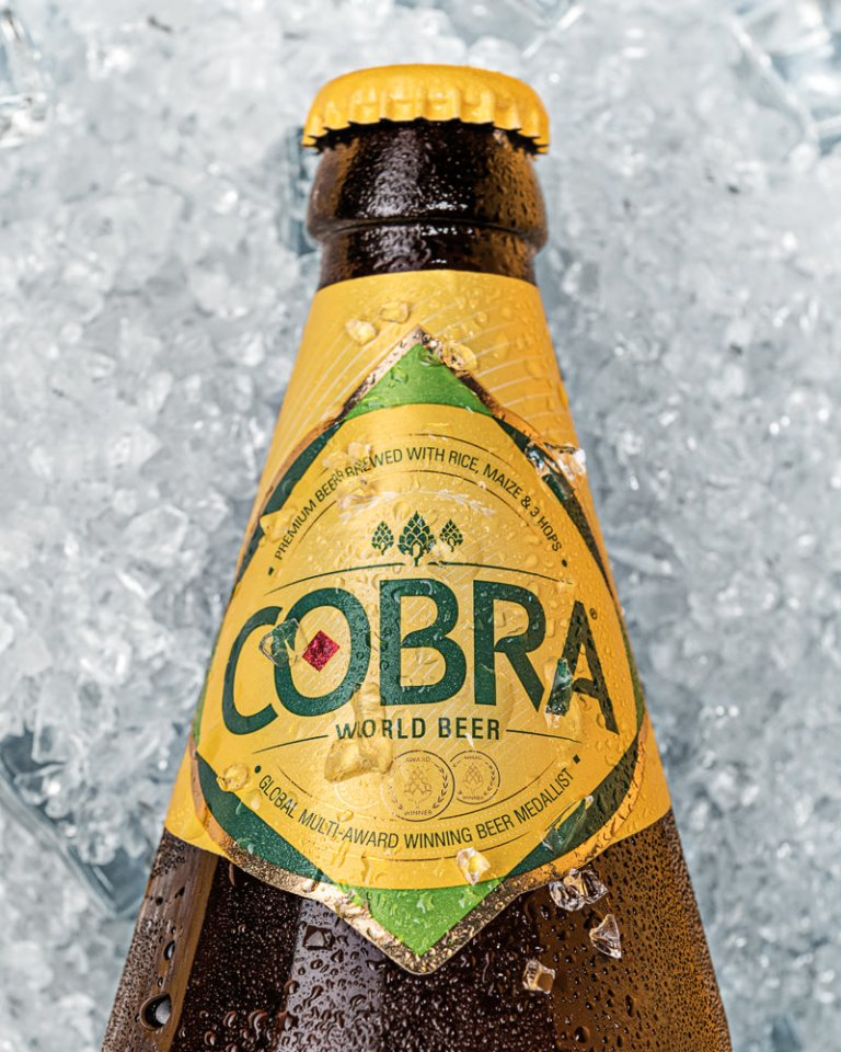 Cobra Bottle on Ice