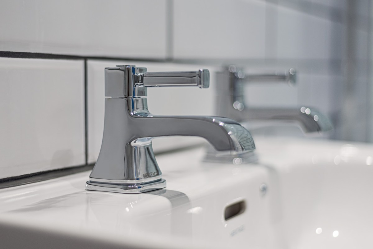 Close up of taps on sink - Bathroom Photography by Joe Lenton
