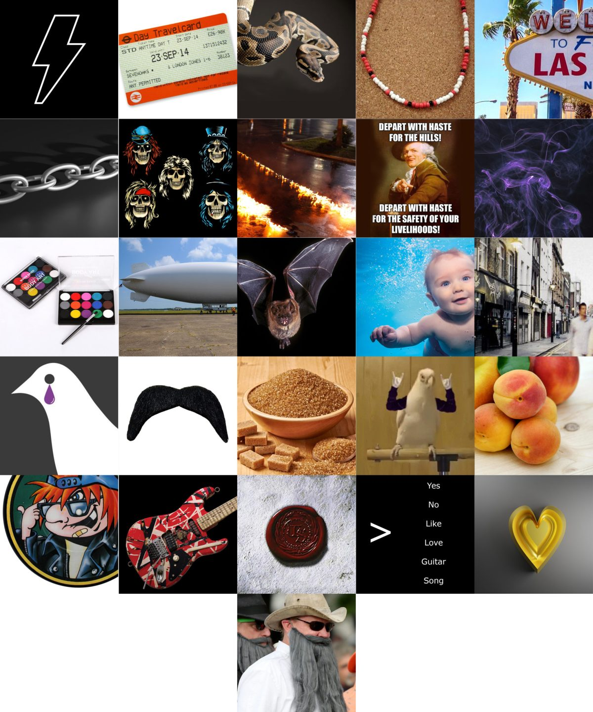 Images & Branding - full set of A-Z image clues