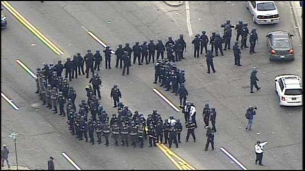 Go to Baltimore is burning (video) (UPDATED 4/28)