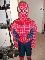 Josh as Spiderman