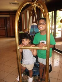 Going for a ride @ the Hilton Doubletree