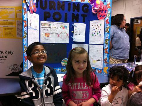 "Josh & Kaiya @ the district ""Curriculum Fair"""
