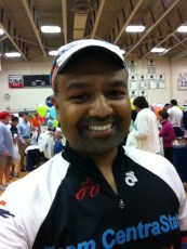 At the MS Bike Ride 2011