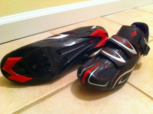 Specialized road shoes