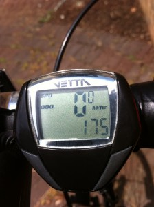6/19/2011 -- I've racked up 175 miles so far this year