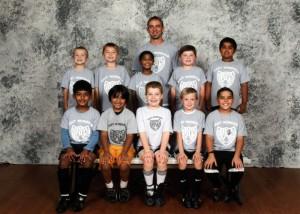 Fall 2011 - Joshua's soccer team