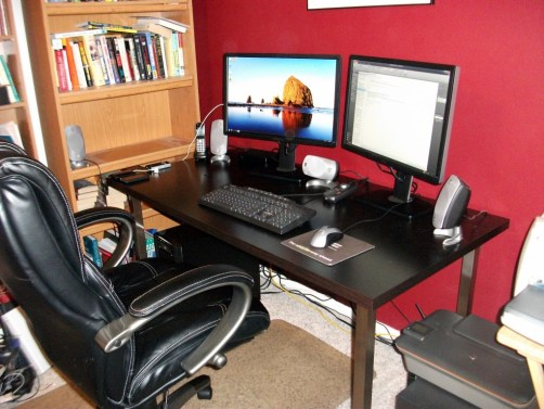 My almost-revamped home office