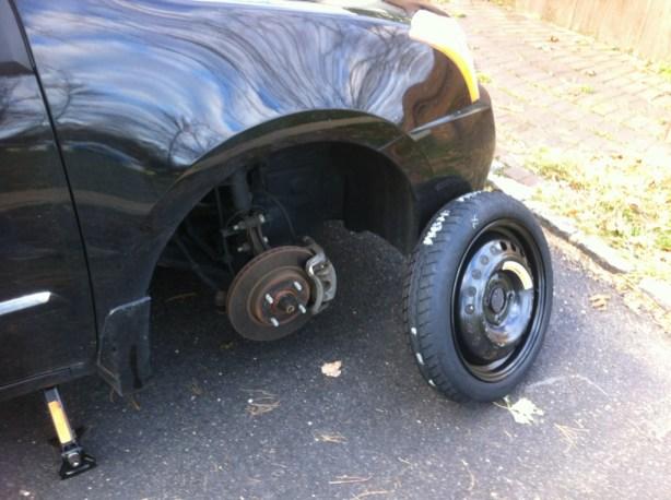 Bah! Flat tires!