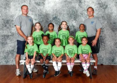 Fall 2012 Girls Soccer Group Picture