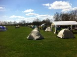 Cub scouts camping over the weekend