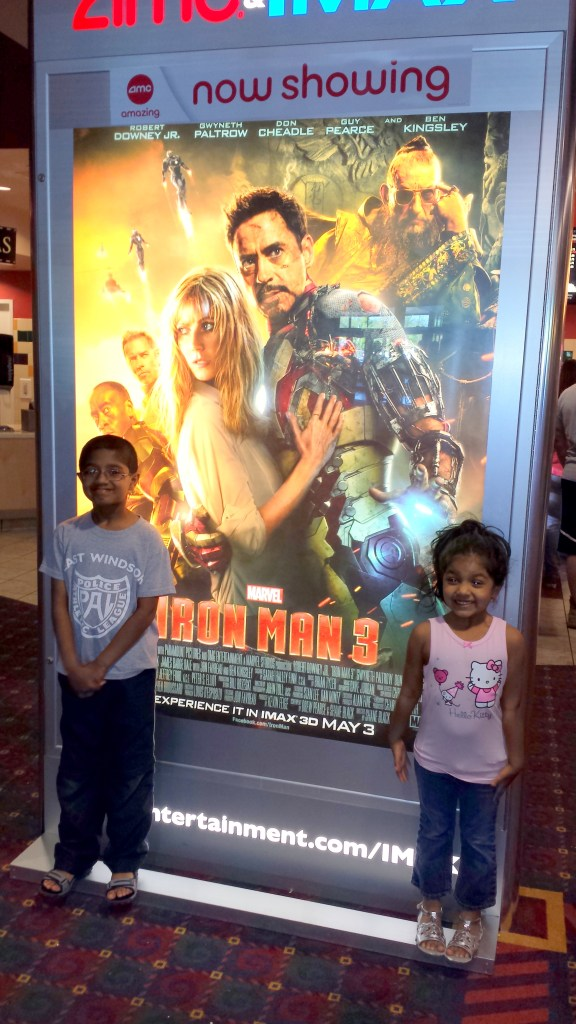 At the movies -- Iron Man 3