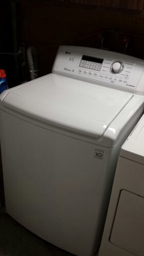 Our new LG washing machine