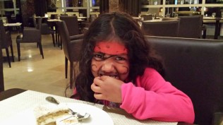 Dessert with the kids after their Pirate Party