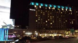 Walked my way from the station to the Westin