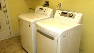 Our new LG washer and dryer