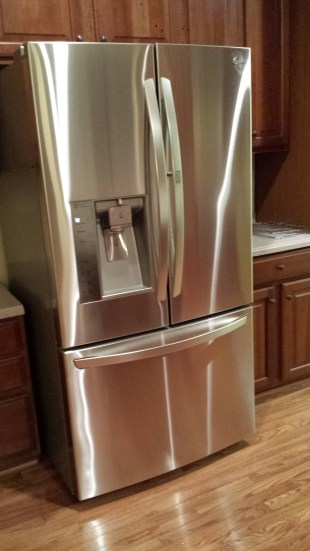 Our new LG refrigerator