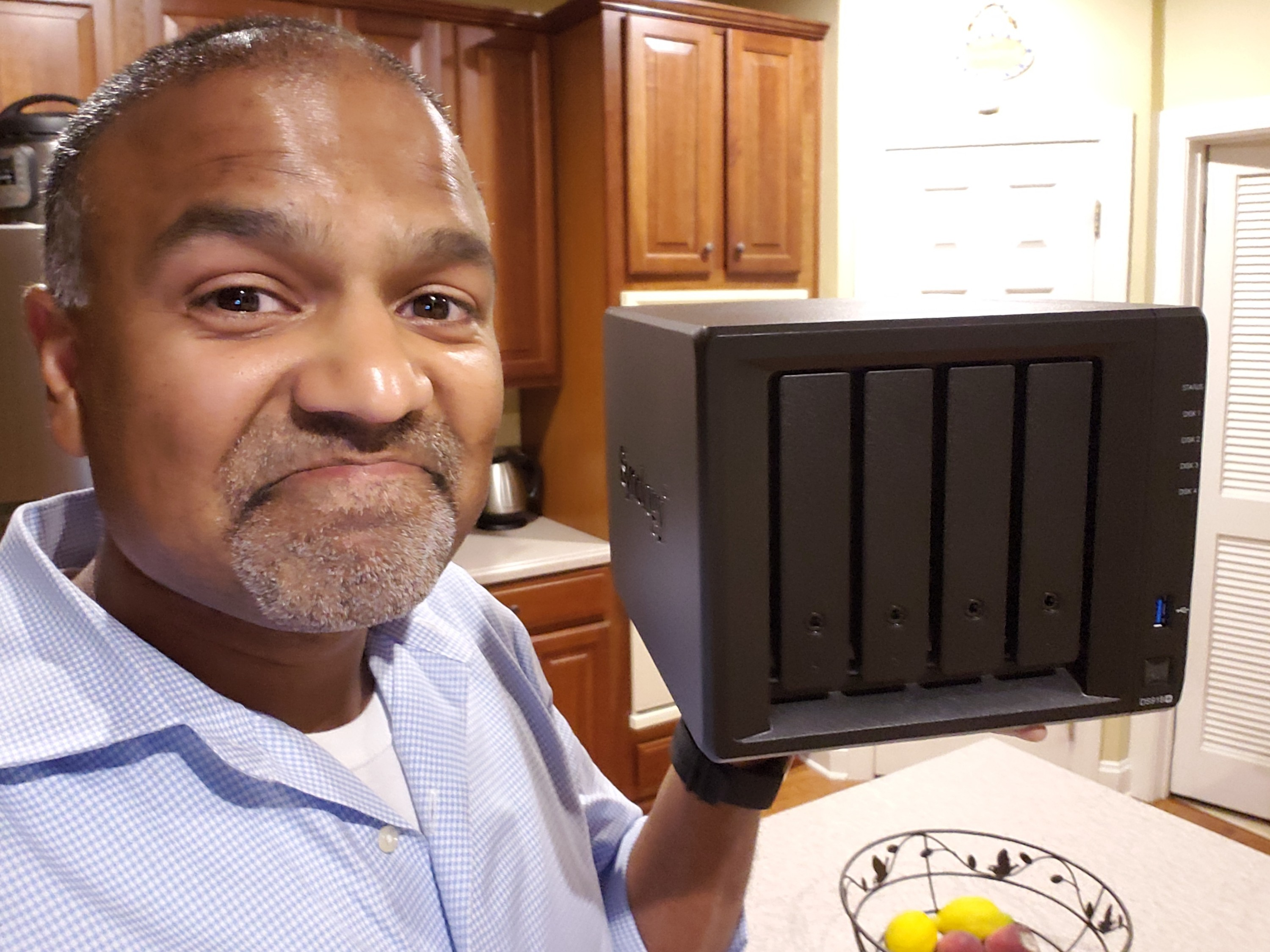 I'm building a new Plex / media server using a Synology DS918+ and