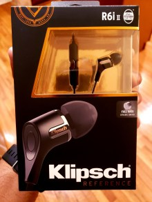 My new Klipsch R6ii-II headphones
