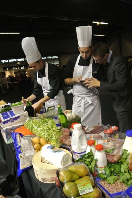 Recette de Simon Denis chef du mois ici et Etoile de la cuisine belge 2015  Joelle Rochette