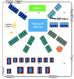 PDC Map