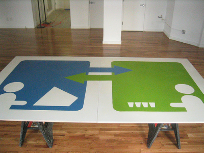 Behold the Copilot Beer Pong Table