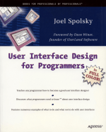 Cover Image: User Interface Design for Programmers (book)