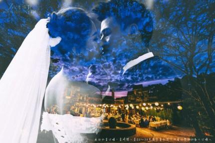 台中婚攝 義庠+怡樺  小南法戶外晚宴 香檳玫瑰小廣場 心之芳庭