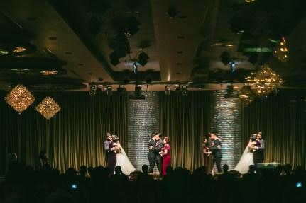 婚攝HK 任杰+芳華 宴客紀錄 晶宴會館民生館
