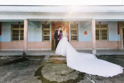 婚攝HK 智育+家秀 結婚迎娶 情定婚宴城堡永康館