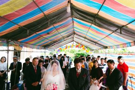 婚攝 志傑+瓊尹 結婚迎娶教會證婚 台東幸福小築