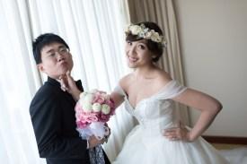 婚禮攝影 政坤+淑嫻 台中長榮酒店 教會見證