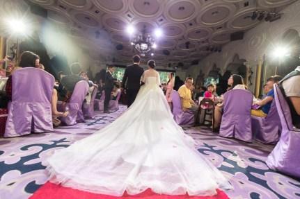 婚禮攝影 台中潮港城帝國廳 坤泰+采婕 訂結紀錄