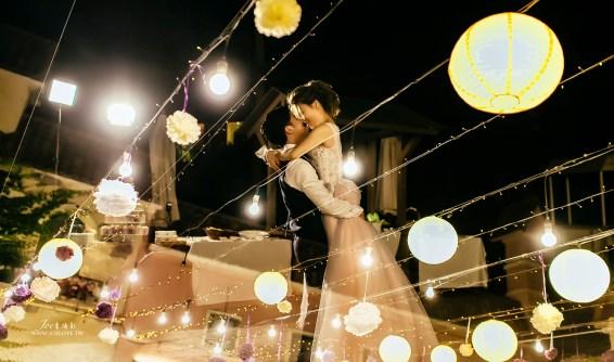 台中婚攝 Luke + Vivi 小南法戶外晚宴 香檳玫瑰小廣場 心之芳庭證婚Villa