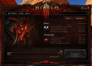 Diablo III - launcher