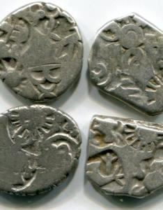 India silver punchmarked karshapanas ca bc bc also coins of from ancient times to the present rh joelscoins