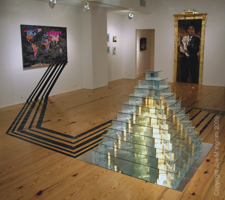 "Chrysallis Stage @ Causey Contemporary ""Pyramid"" installation View"