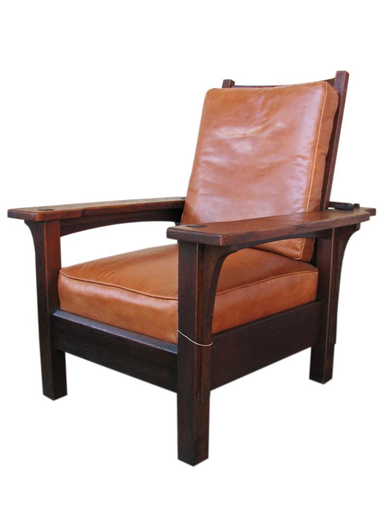 Ljg Stickley Morris Chair FF621  joenevo